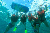 Private family scuba diving trip